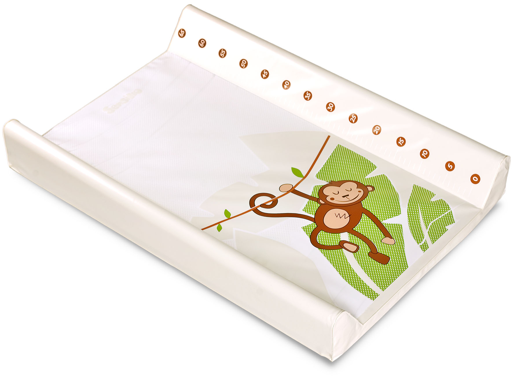 Tropical Changing Pad – monkey – beige