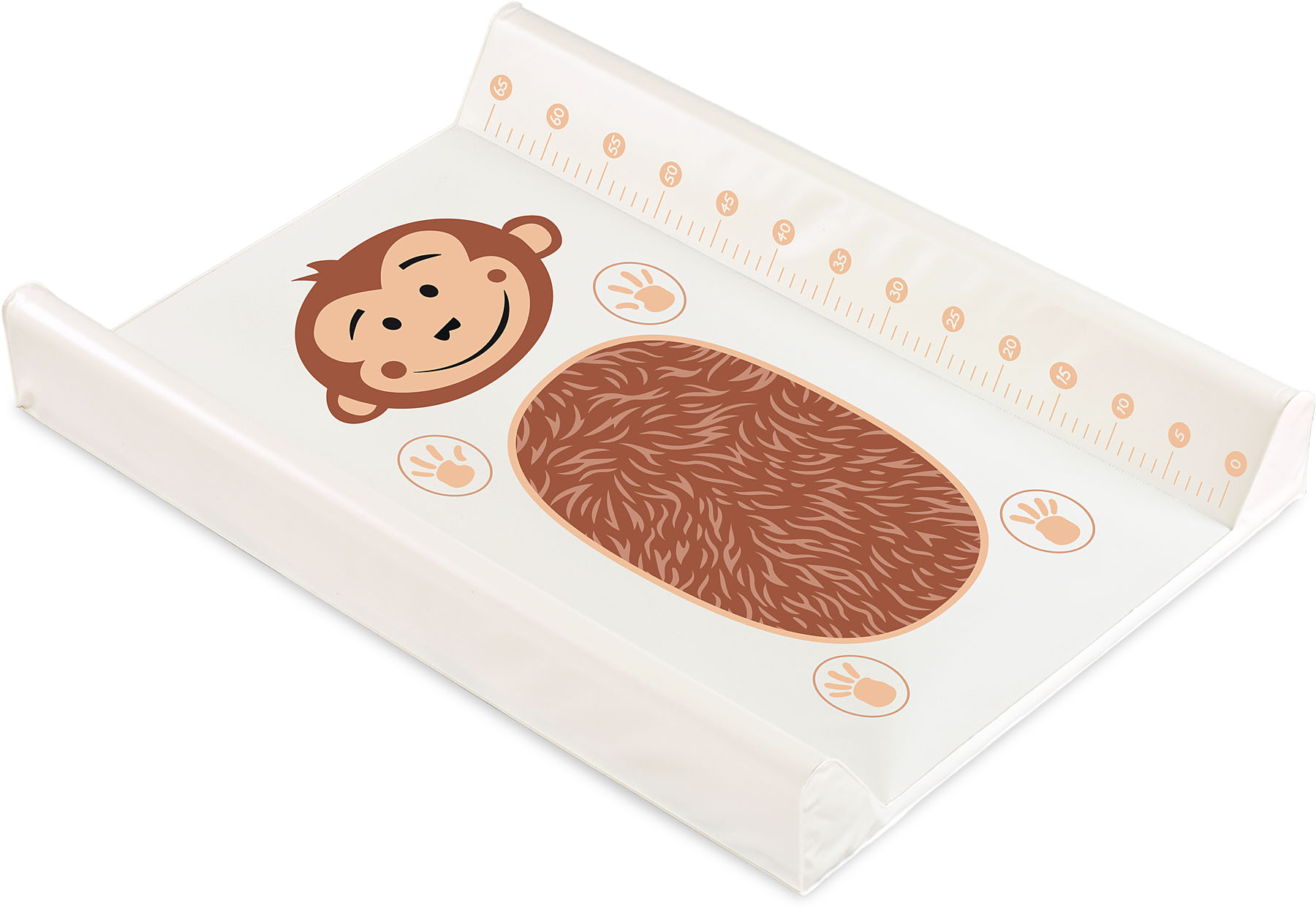 Animals Changing Pad – monkey beige