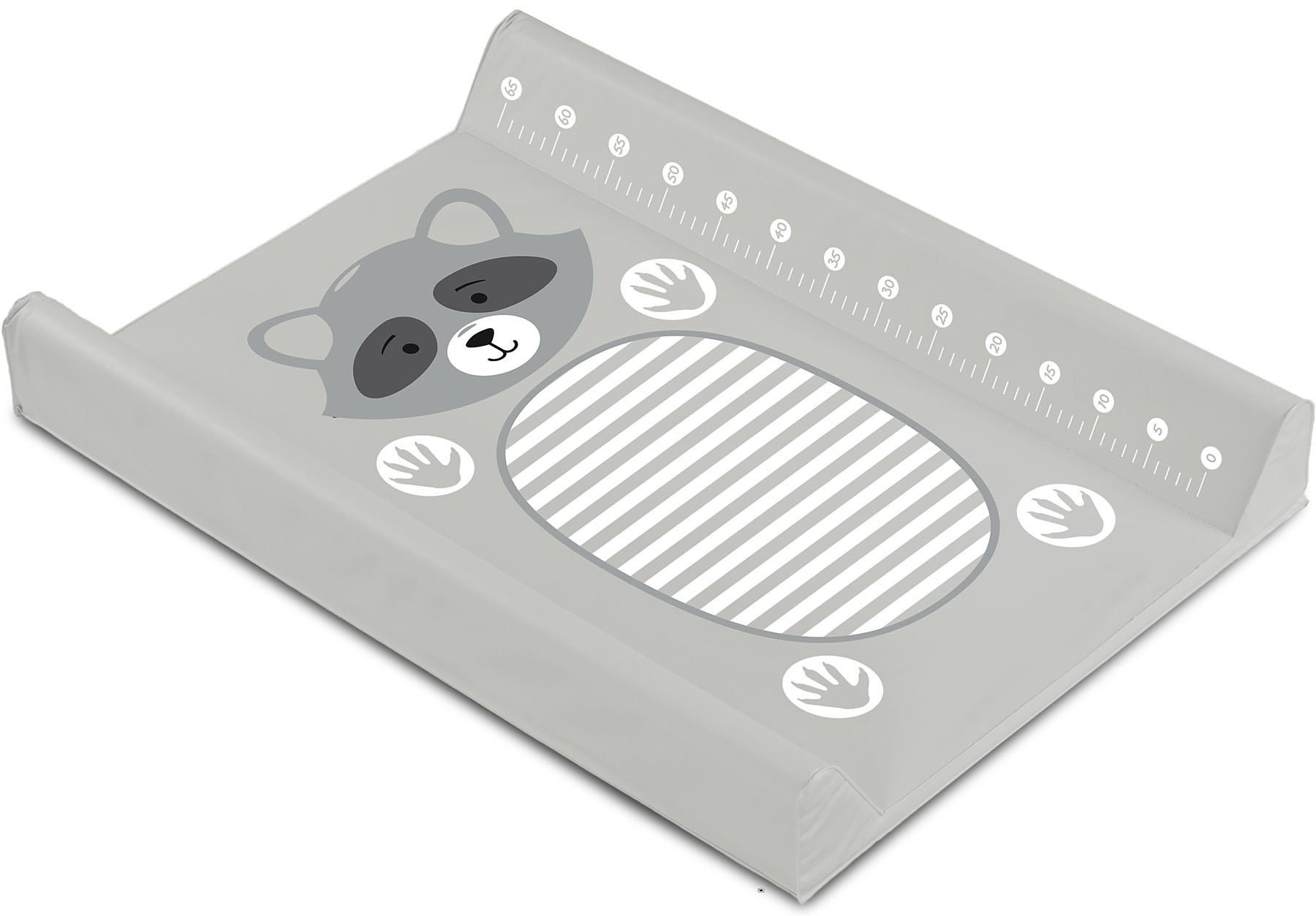 Animals Changing Pad – raccoon grey