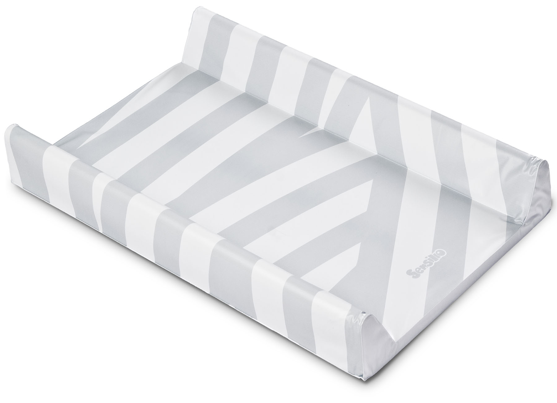 Soft changing pad – strips platinium