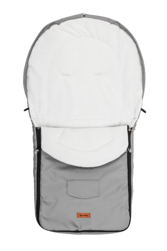 Stroller sleeping bag – grey/polar