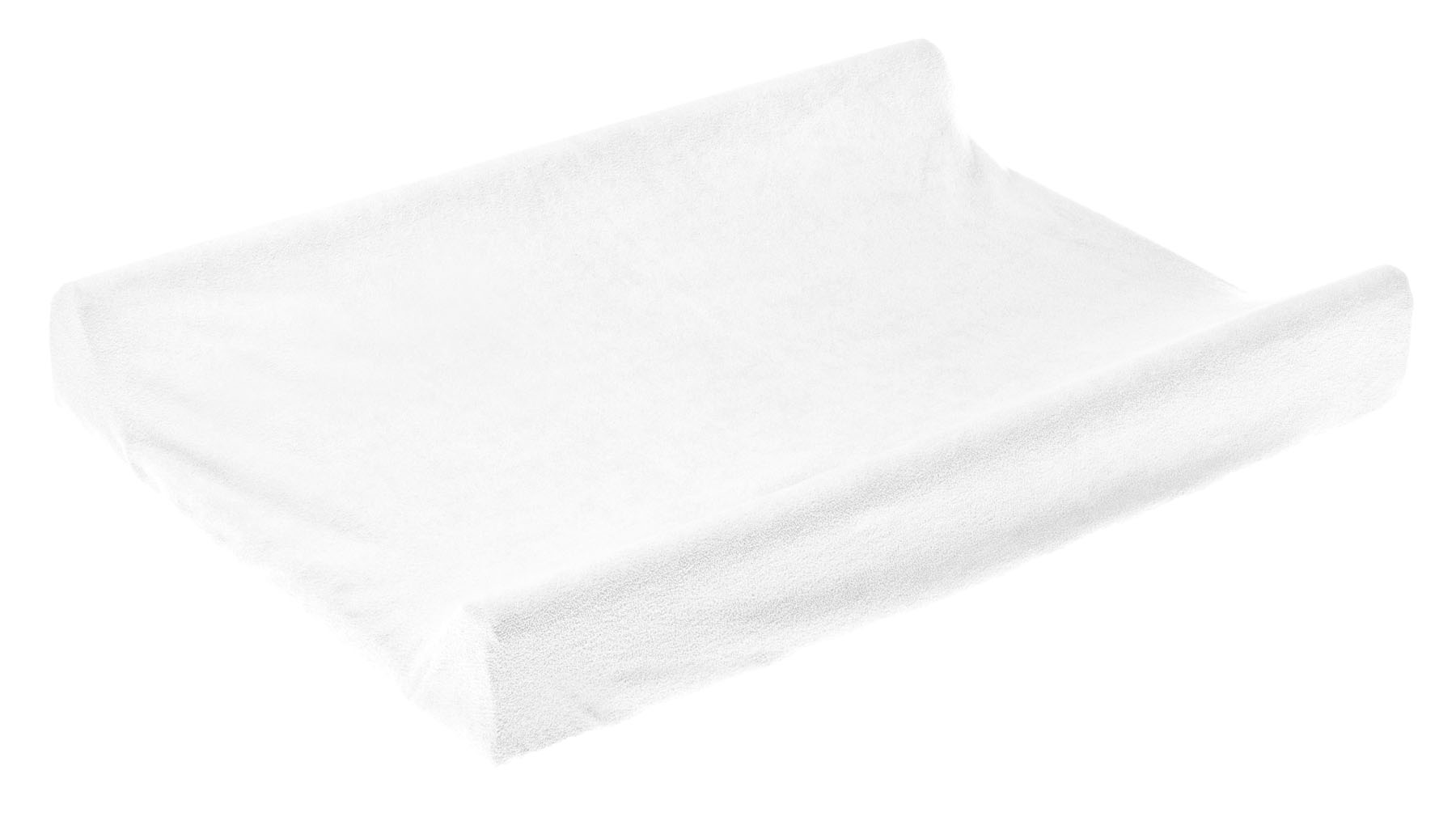 Terry Changing Pad Cover – white