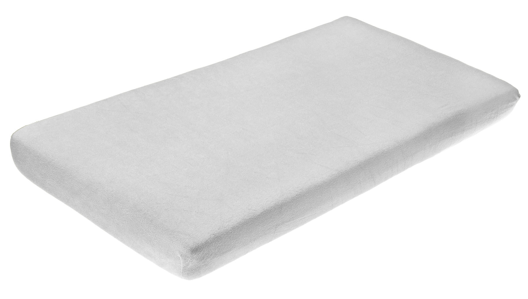 Frotte bed sheet with elastic band – grey