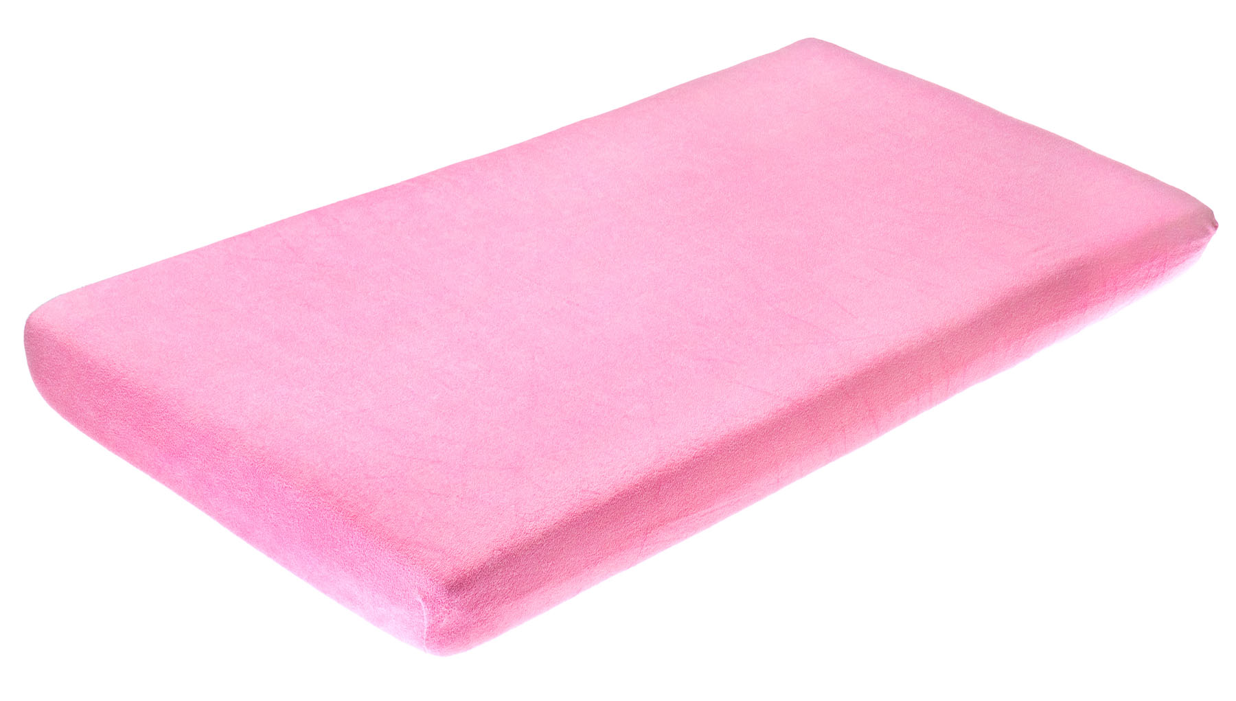 Frotte bed sheet with elastic band – pink