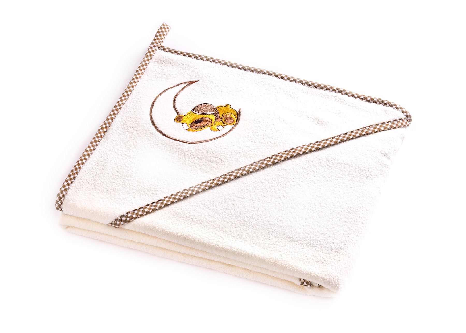 Bear soft bath towel – ecru