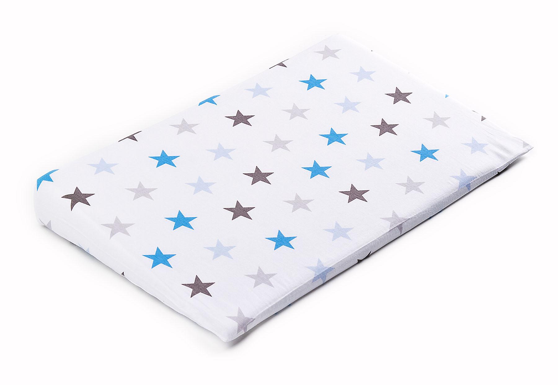 38×60 Wedge Pillowcases – galaxy blue