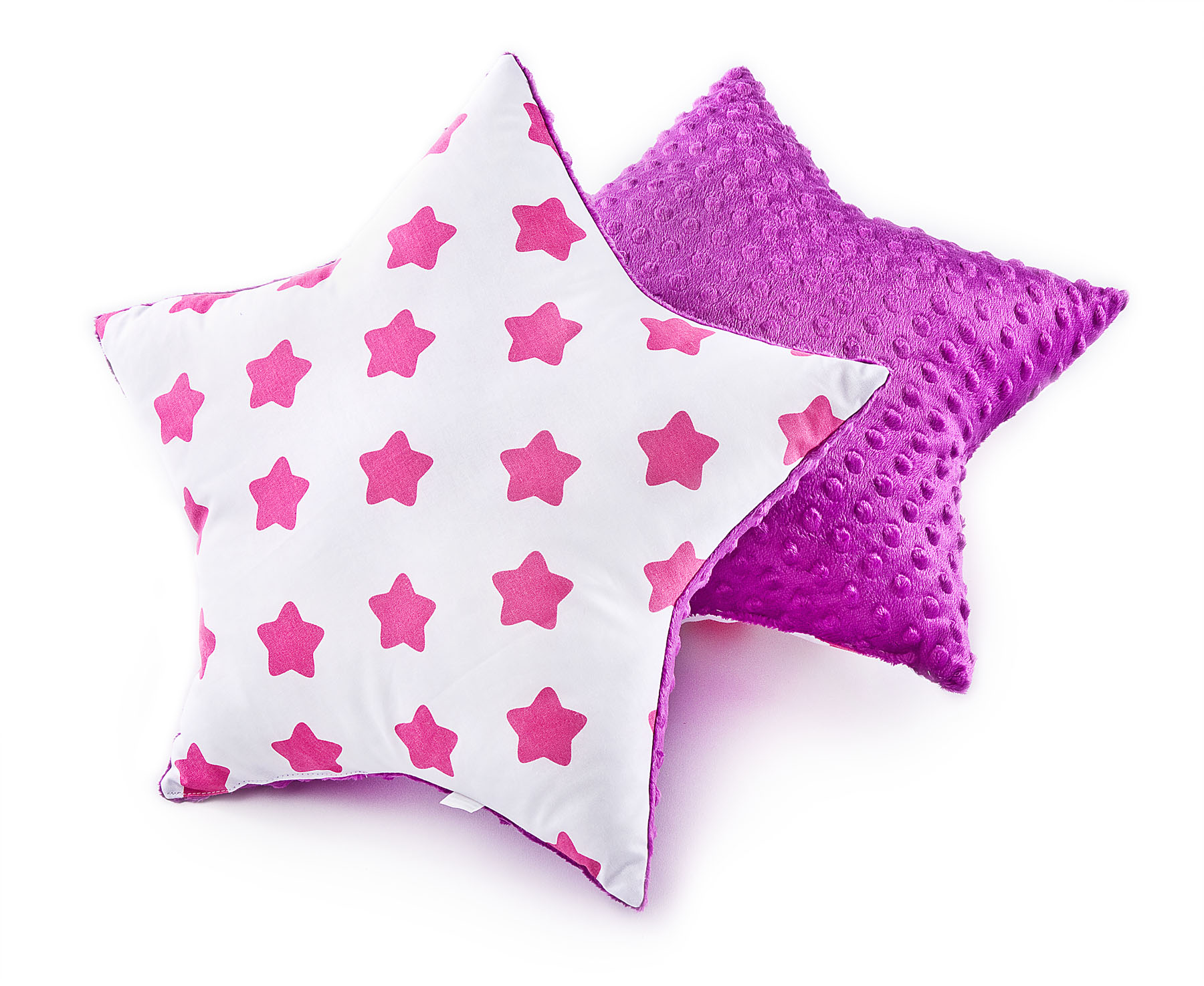 Star Pillow – stars lavender