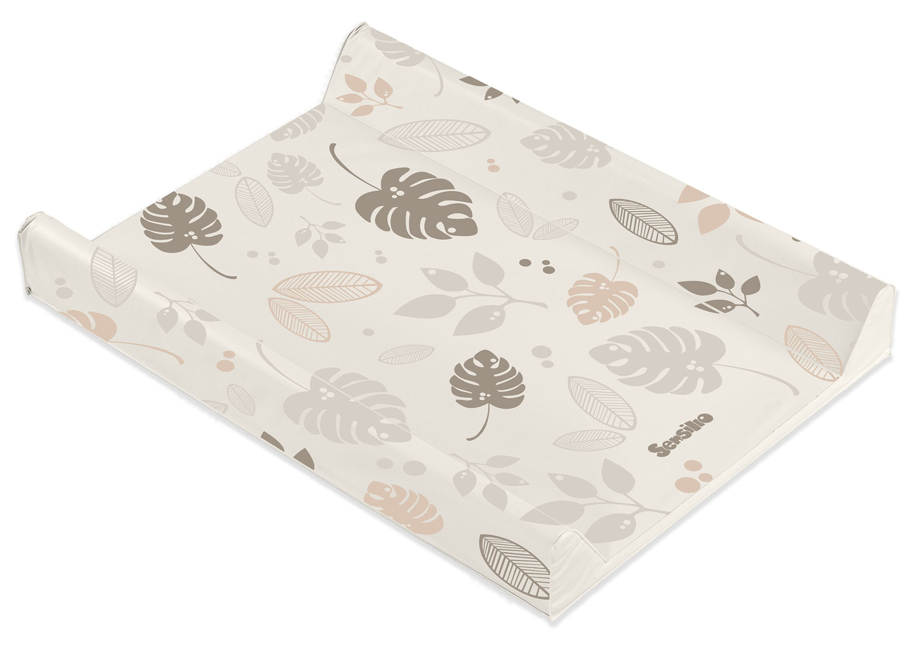 Floral Changing Pad – beige