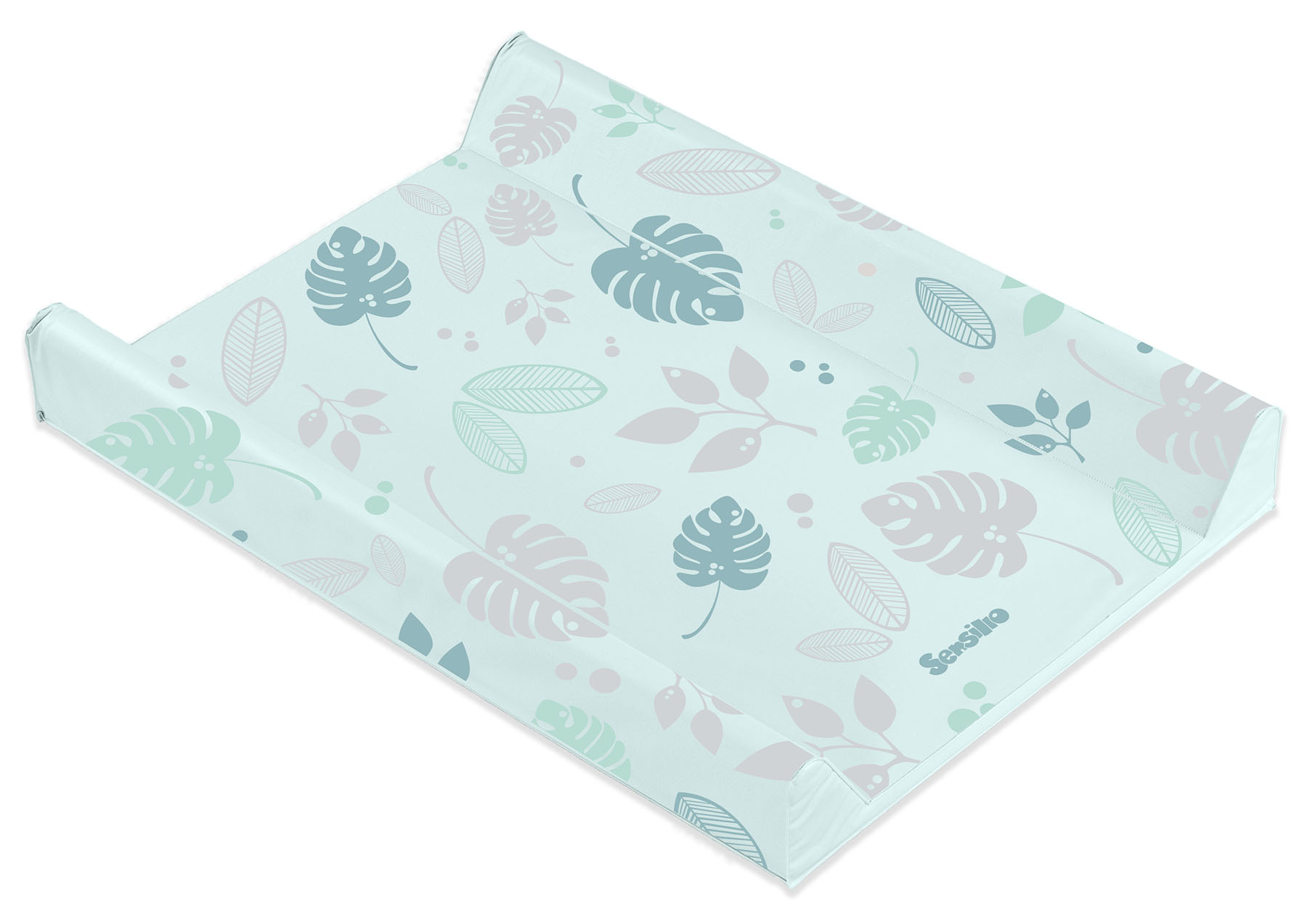 Floral Changing Pad – mint