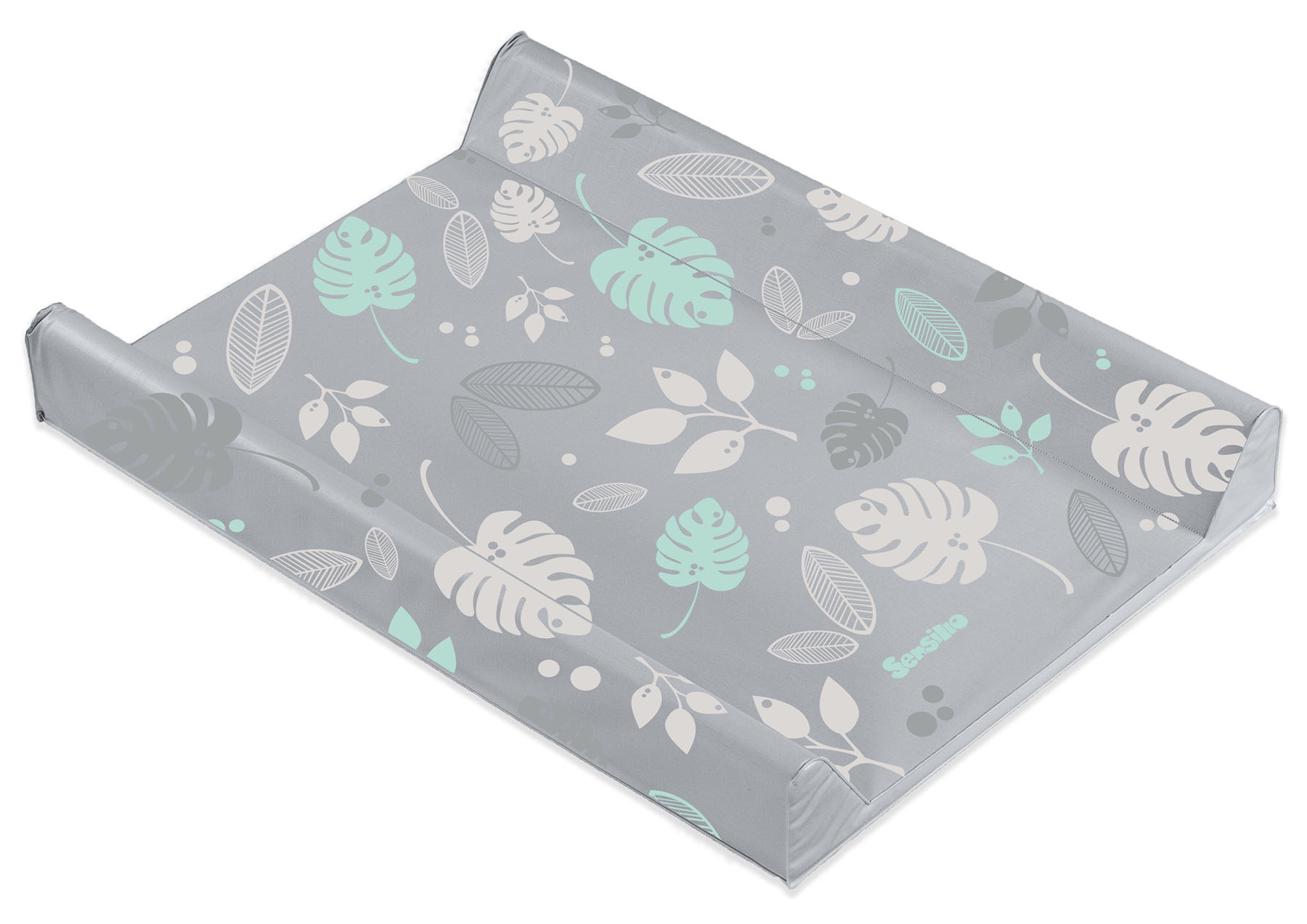 Floral Changing Pad – grey