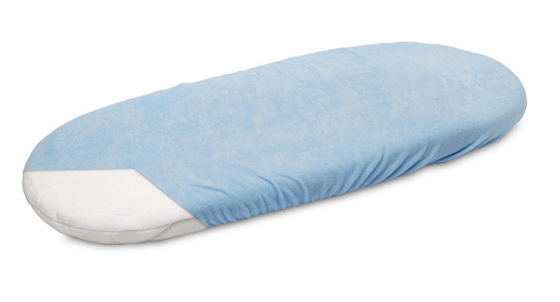 Terry Pushchair Sheet – blue