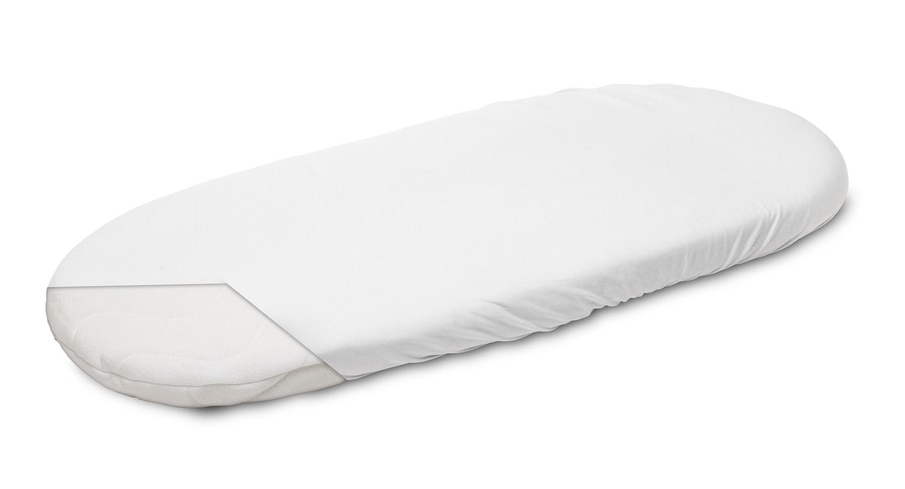 Jersey Pushchair Sheet – white