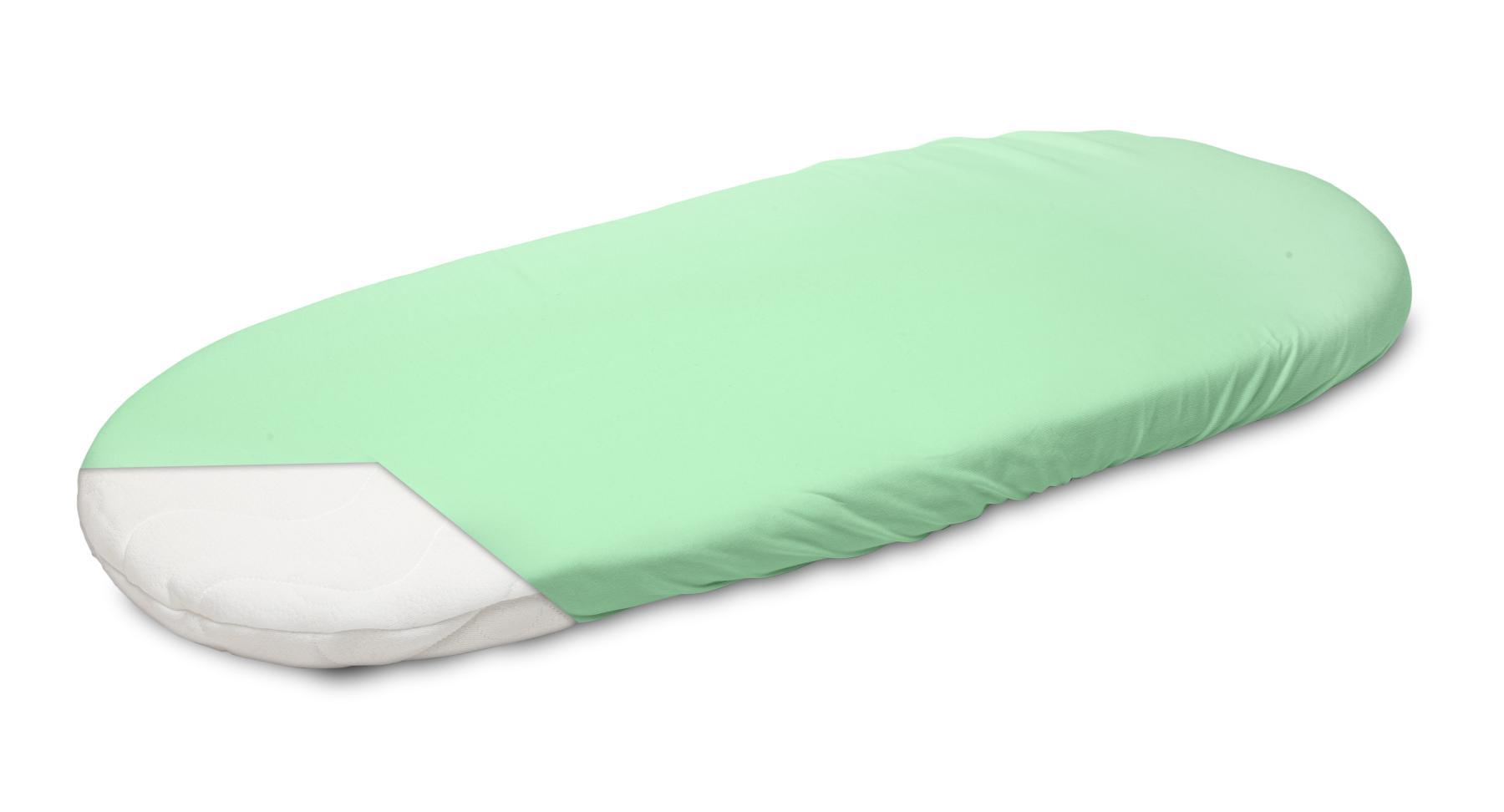Jersey Pushchair Sheet – green