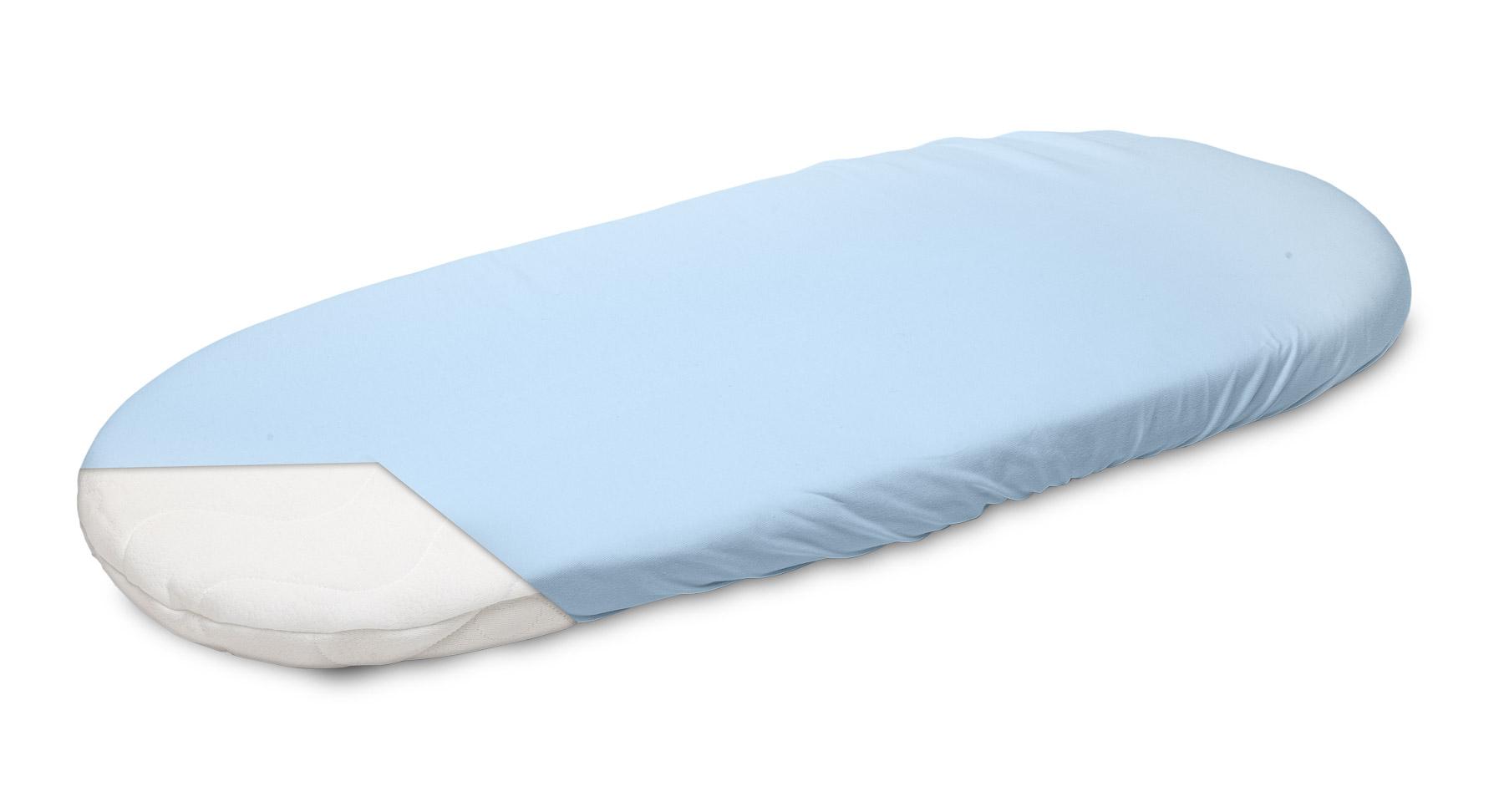Jersey Pushchair Sheet – blue