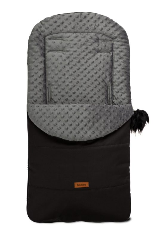 Husky Romper Bag – black/dark grey