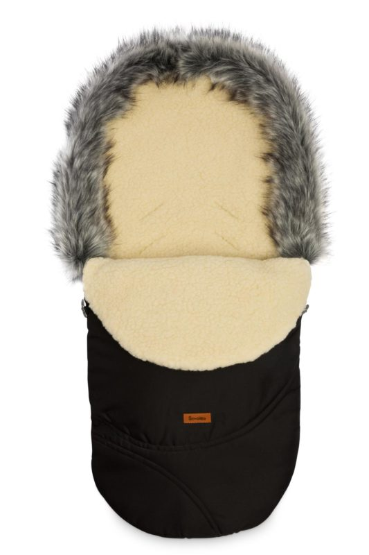 Eskimo Romper Bag – black/wool