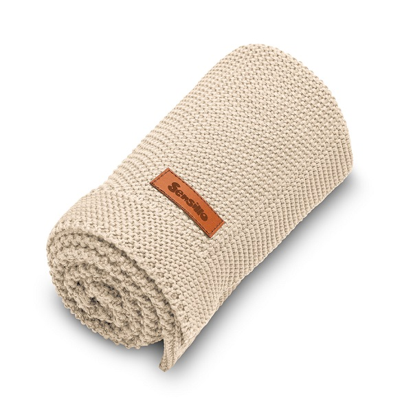 Knitted Blanket – beige