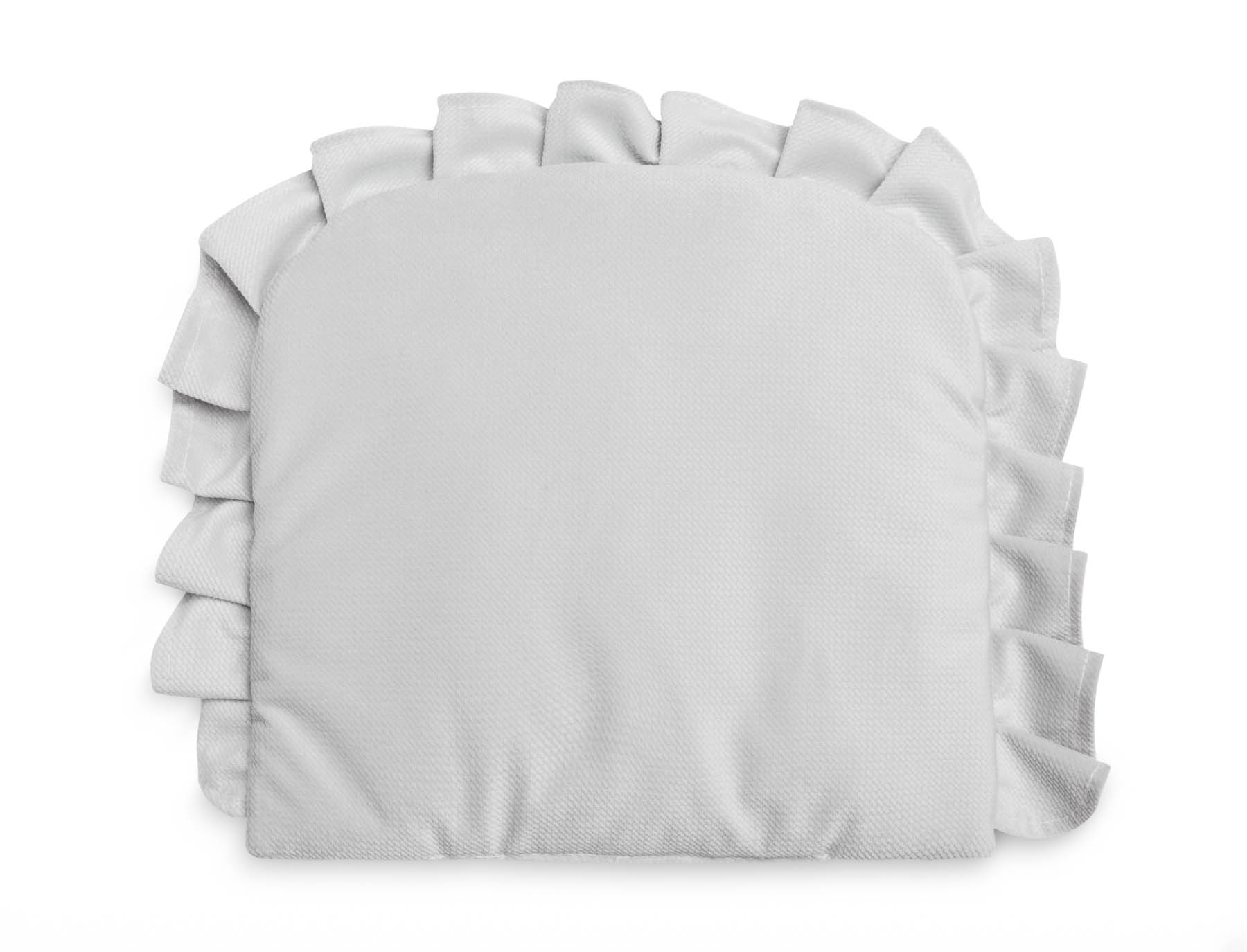 Pillow With a Frill – Velvet grey