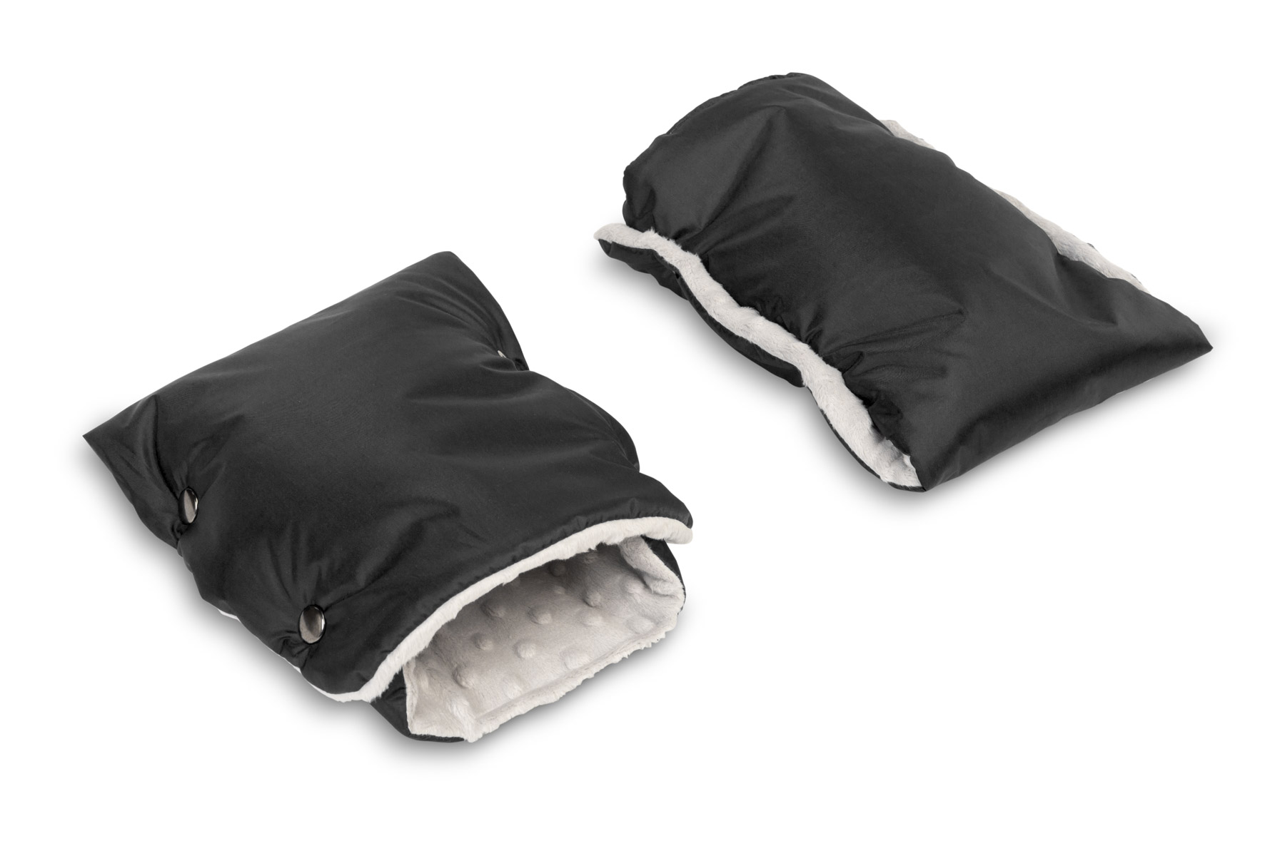Rękawiczka/Mufka minky – czarna
