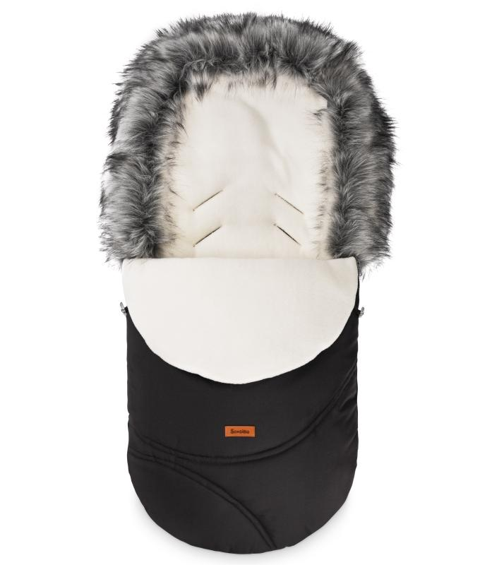 Eskimo Romper Bag – black/polar fleece