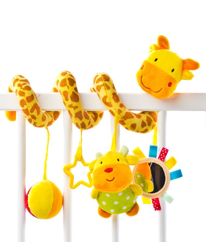 Spiralka do wózka - Żyrafa