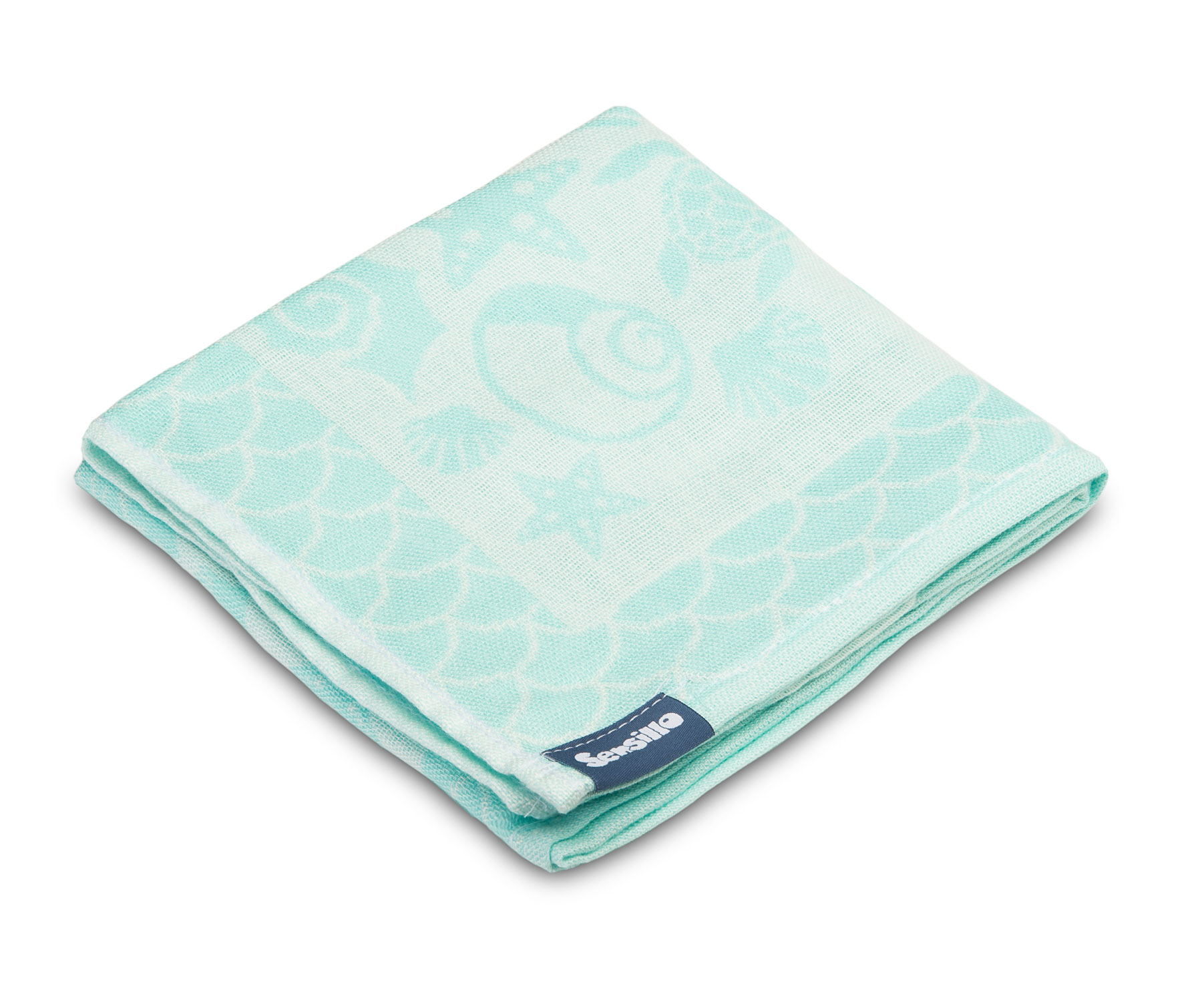 Bamboo and cotton diaper – mint shells