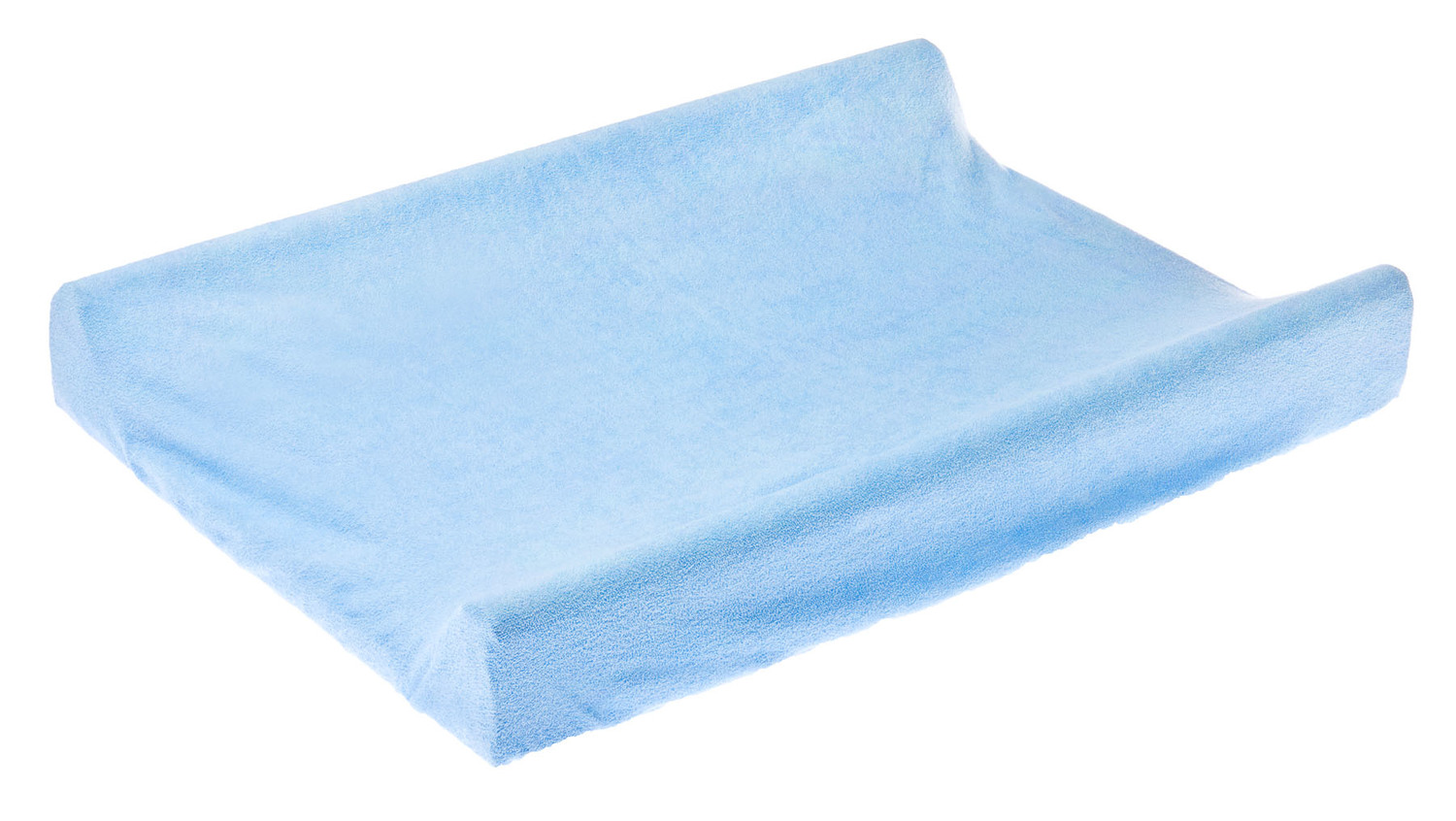 Terry Changing Pad Cover – blue