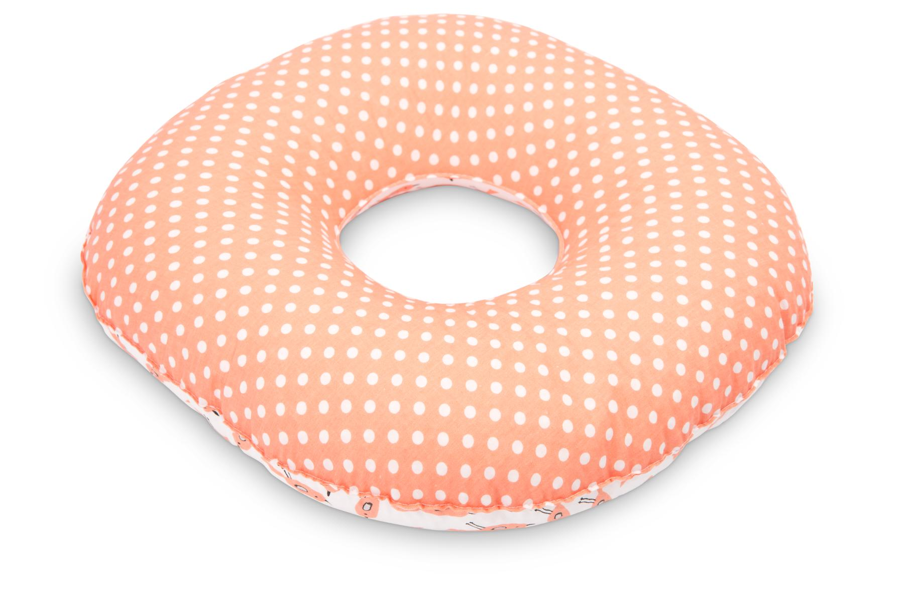 Postnatal Pillow – dots coral