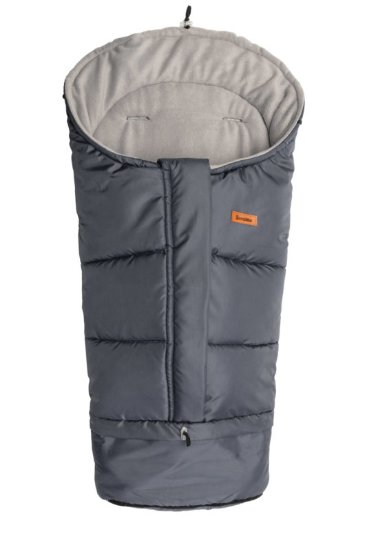 Combi  3in1 Romper Bag – graphite/grey polar fleece