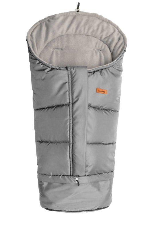 Combi  3in1 Romper Bag – grey polar fleece