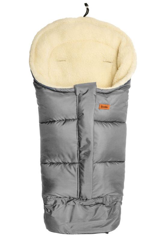 Combi 3in1 Romper bag – grey/wool