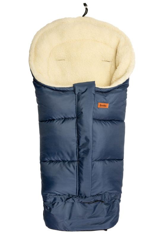 Combi 3in1 Romper bag – navy blue/wool