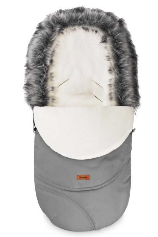 Eskimo Romper Bag – grey/polar fleece