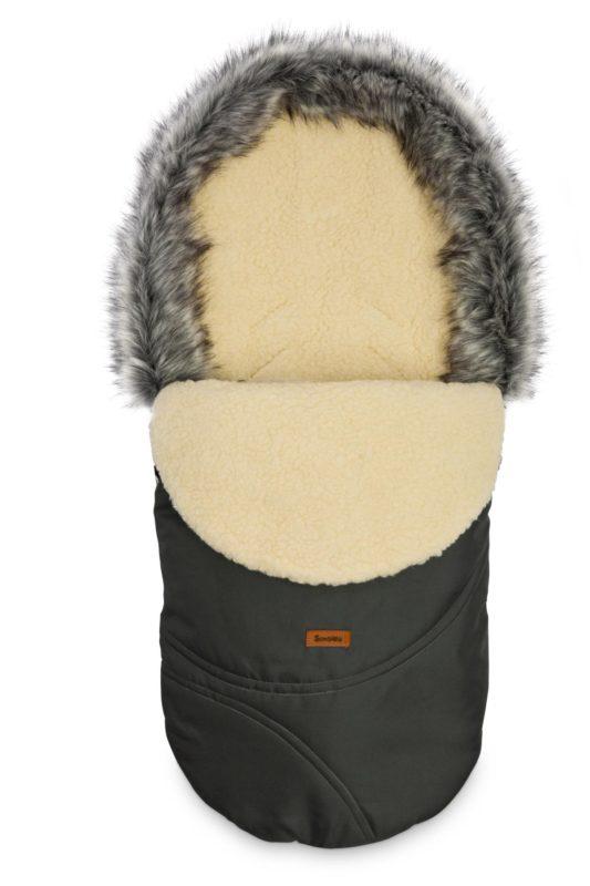 Eskimo Romper Bag – graphite/wool