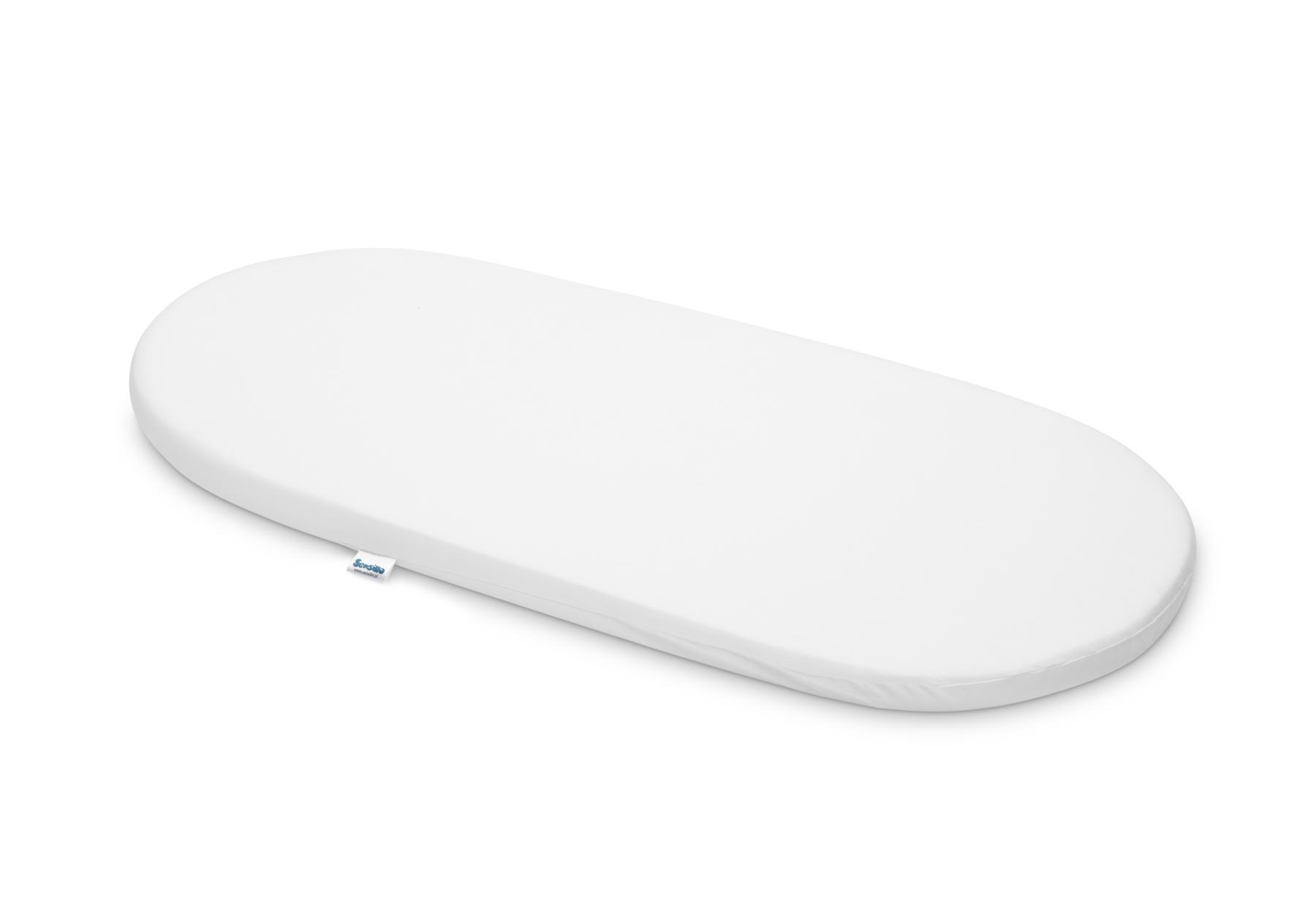 Materacyk do wózka 75×35 cm – Classic Biały