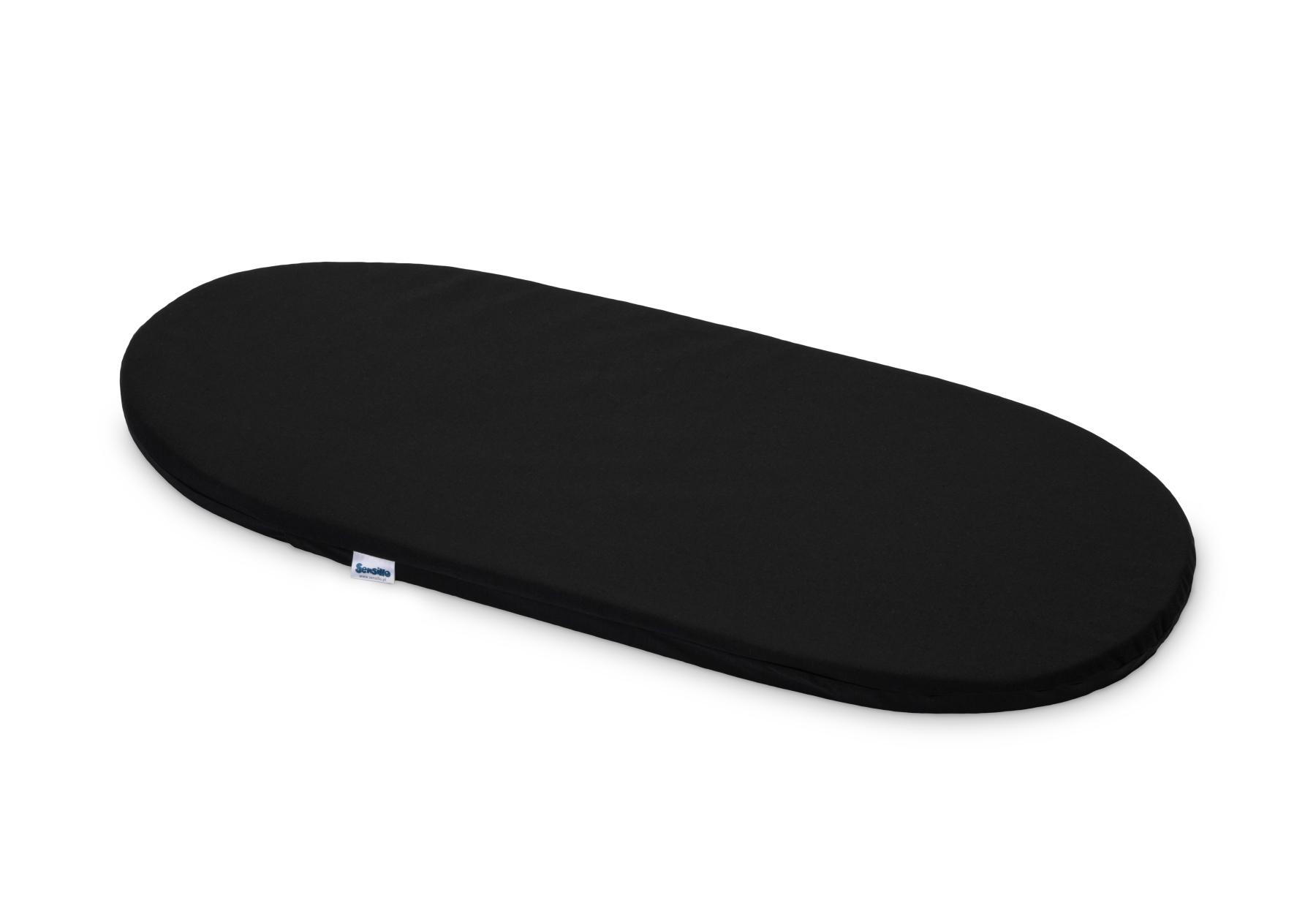 Materacyk do wózka 75×35 cm – Classic Czarny