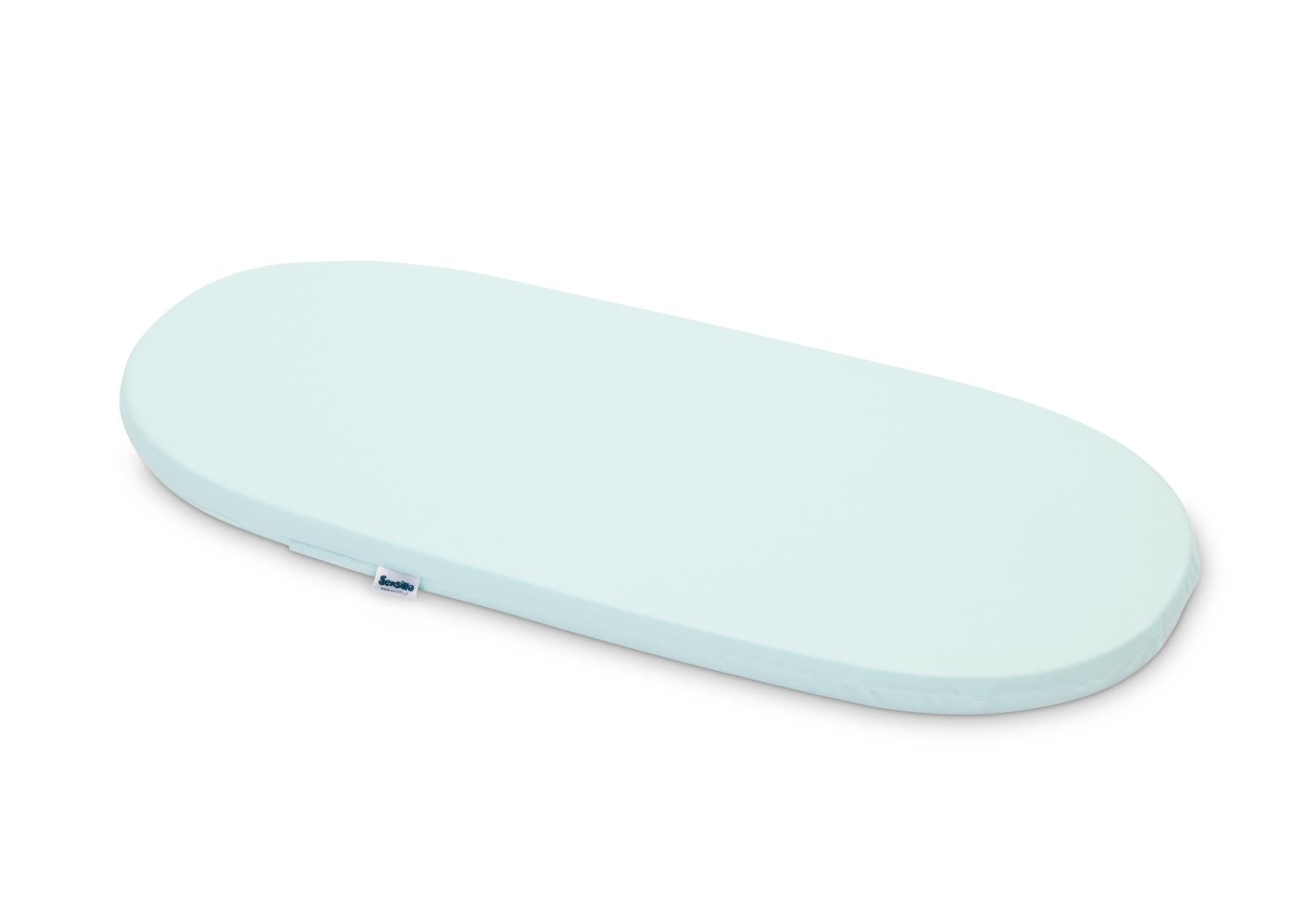 Materacyk do wózka 75×35 cm – Classic Niebieski