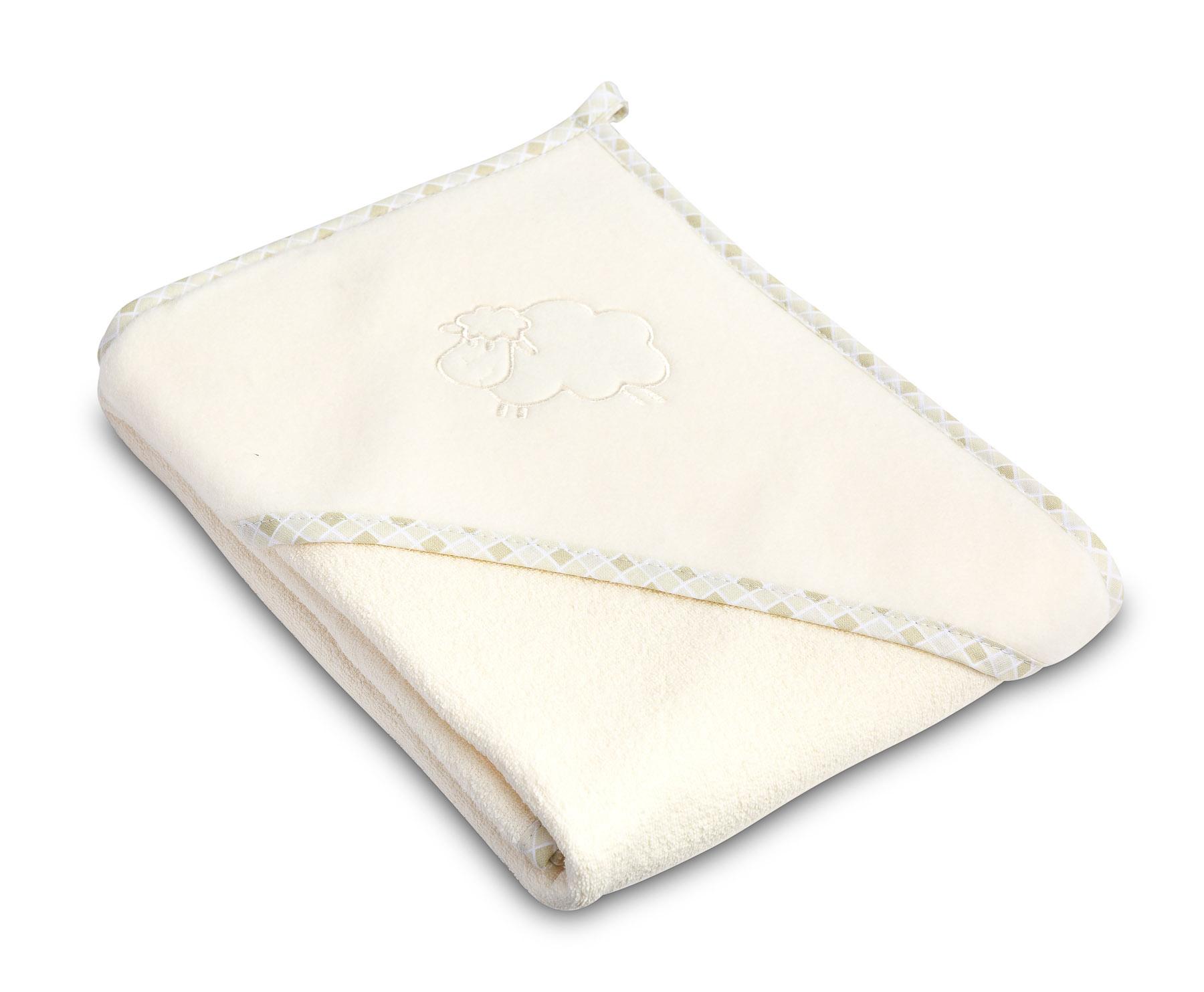 Lamb soft bath towel – beige