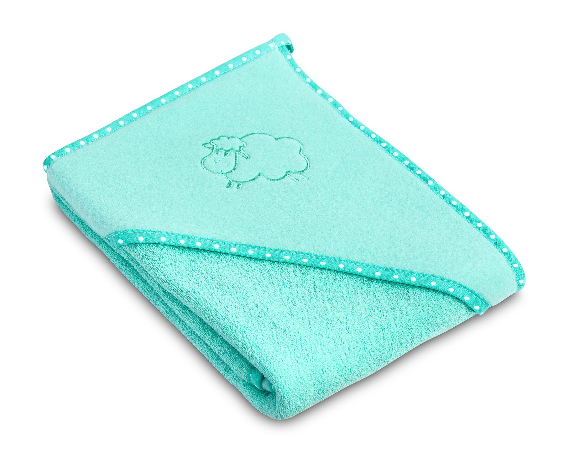 Lamb soft bath towel – turquoise