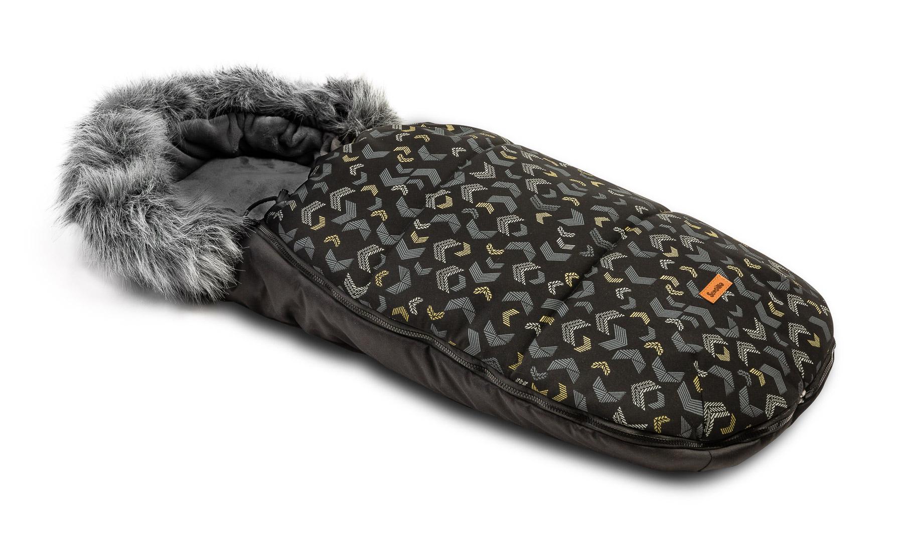 Śpiworek Olaf – czarny wzory