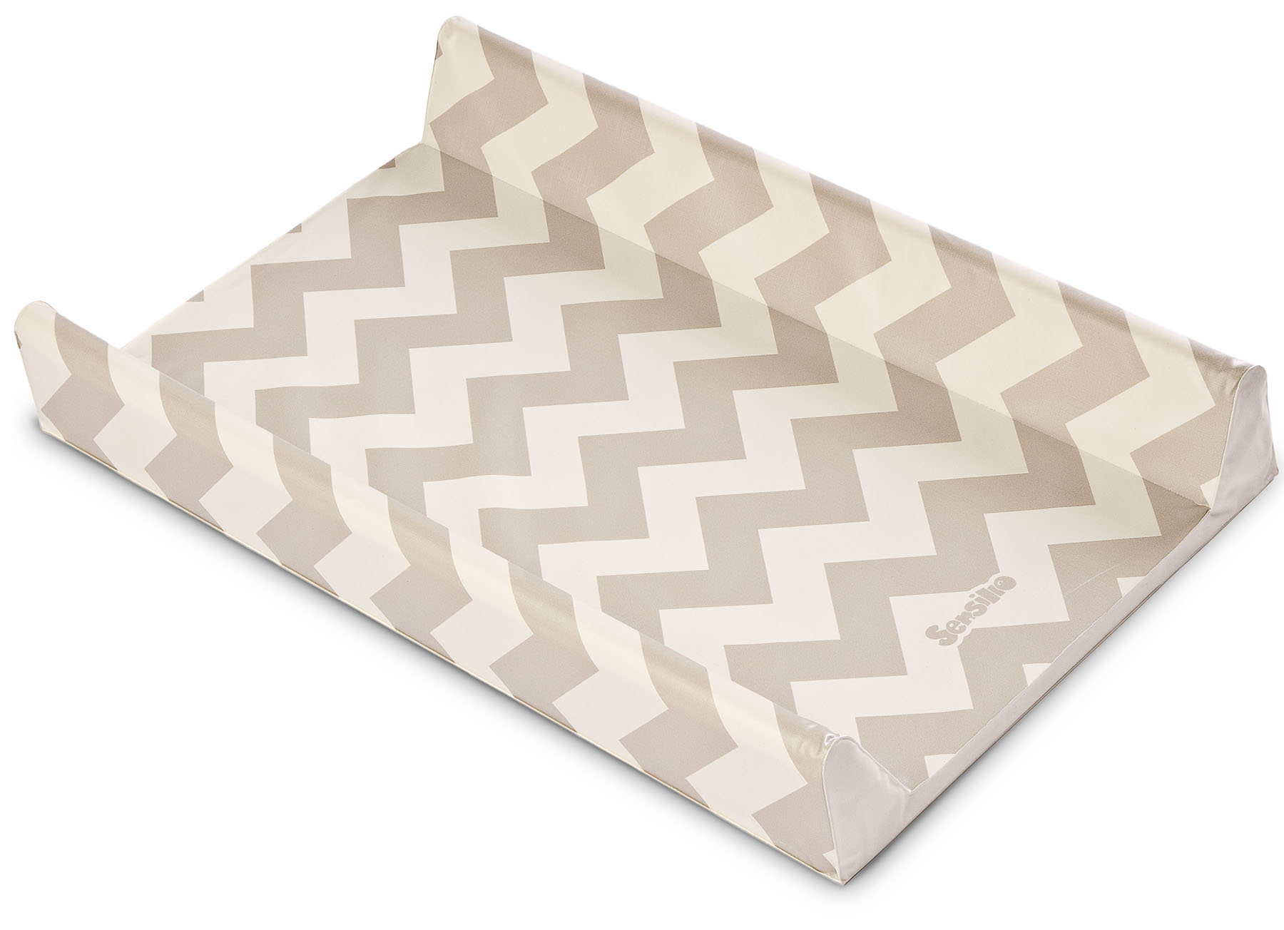 Patterns Changing Pad – zigzag beige