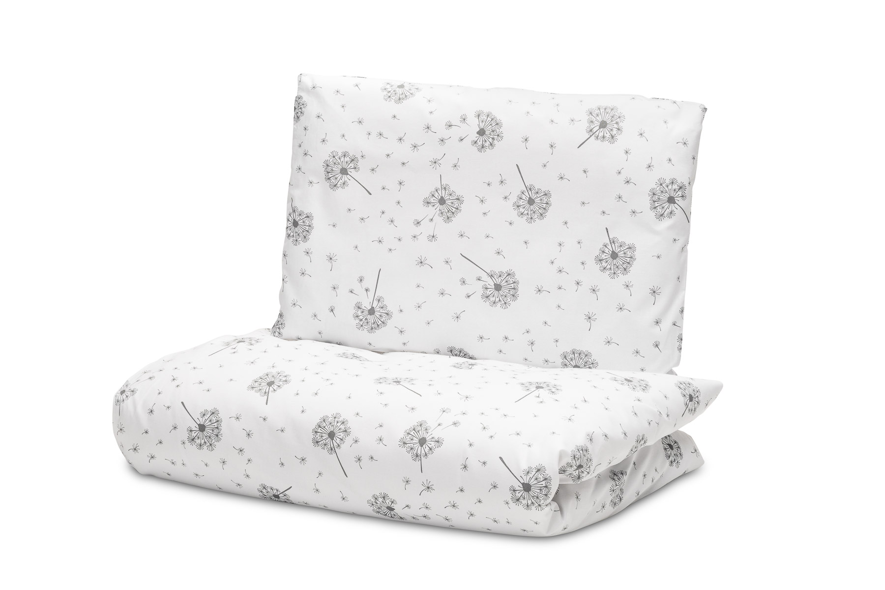 2-pieces 100×135 cm Bed – dandelion white