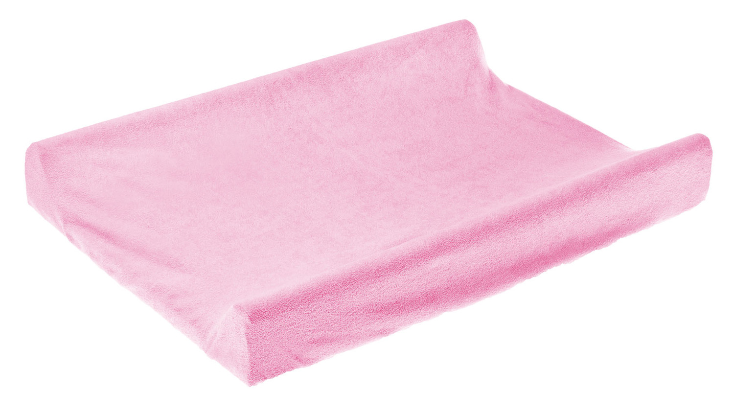 Terry Changing Pad Cover – light pink