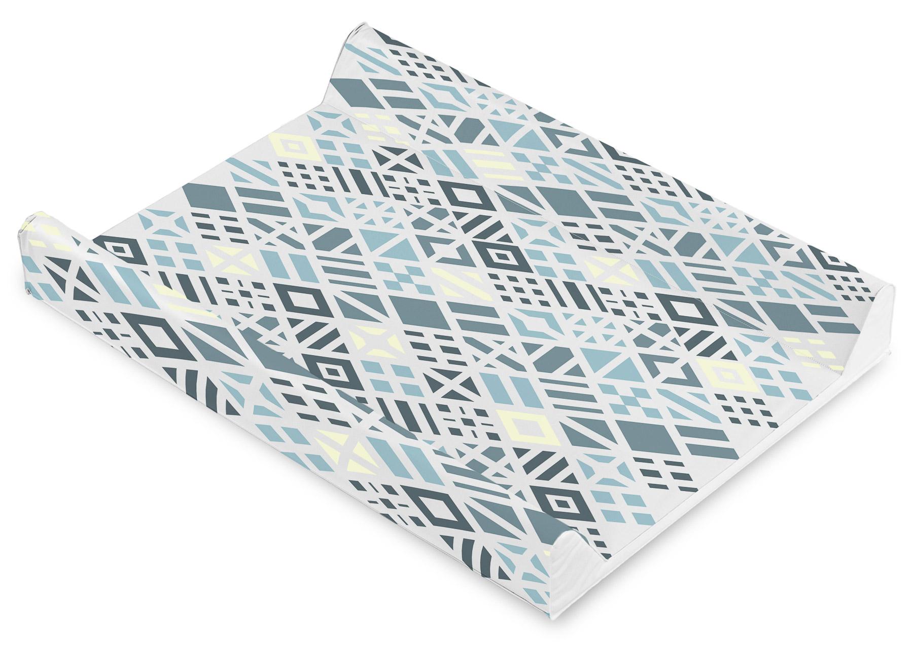 Przewijak Patterns – romby platynowy