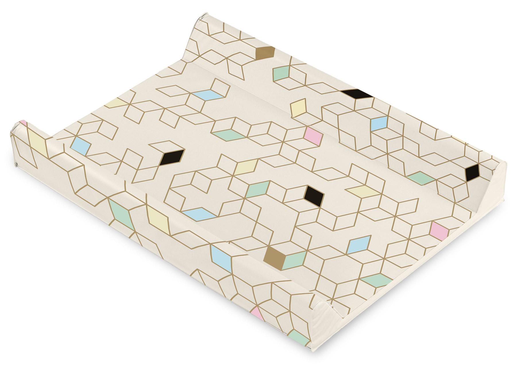 Przewijak Patterns – sześciany beżowy