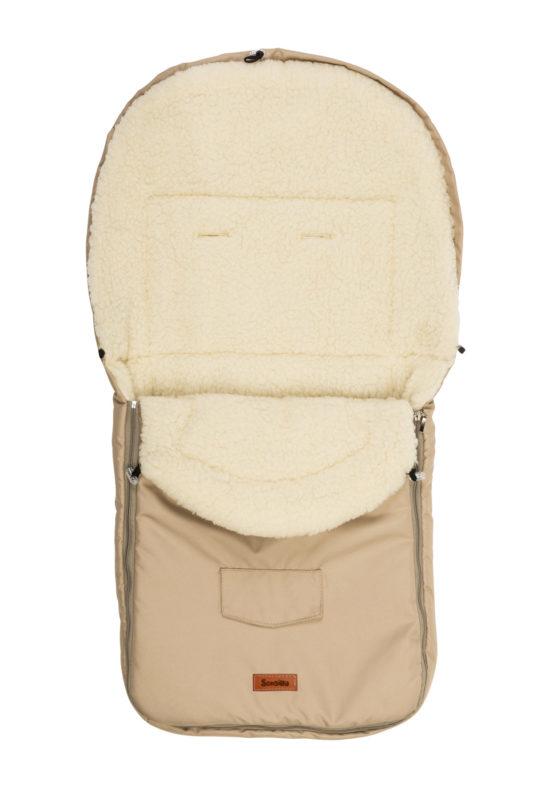 Classic Romper Bag – cappuccino/wool