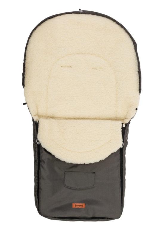 Classic Romper Bag – black/wool