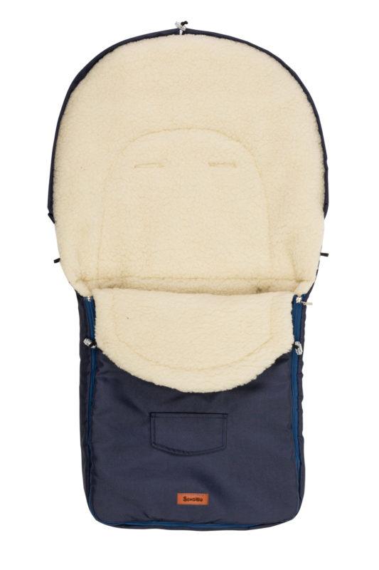 Classic Romper Bag – navy blue/wool