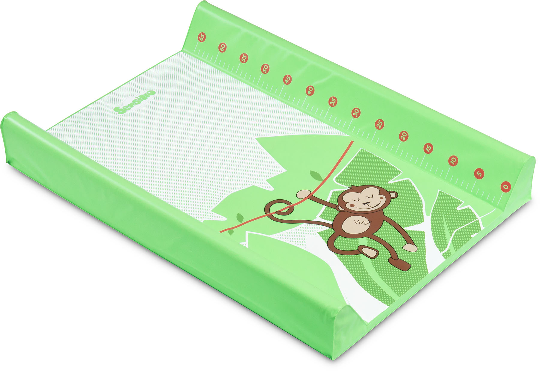 Tropical Changing Pad – monkey green