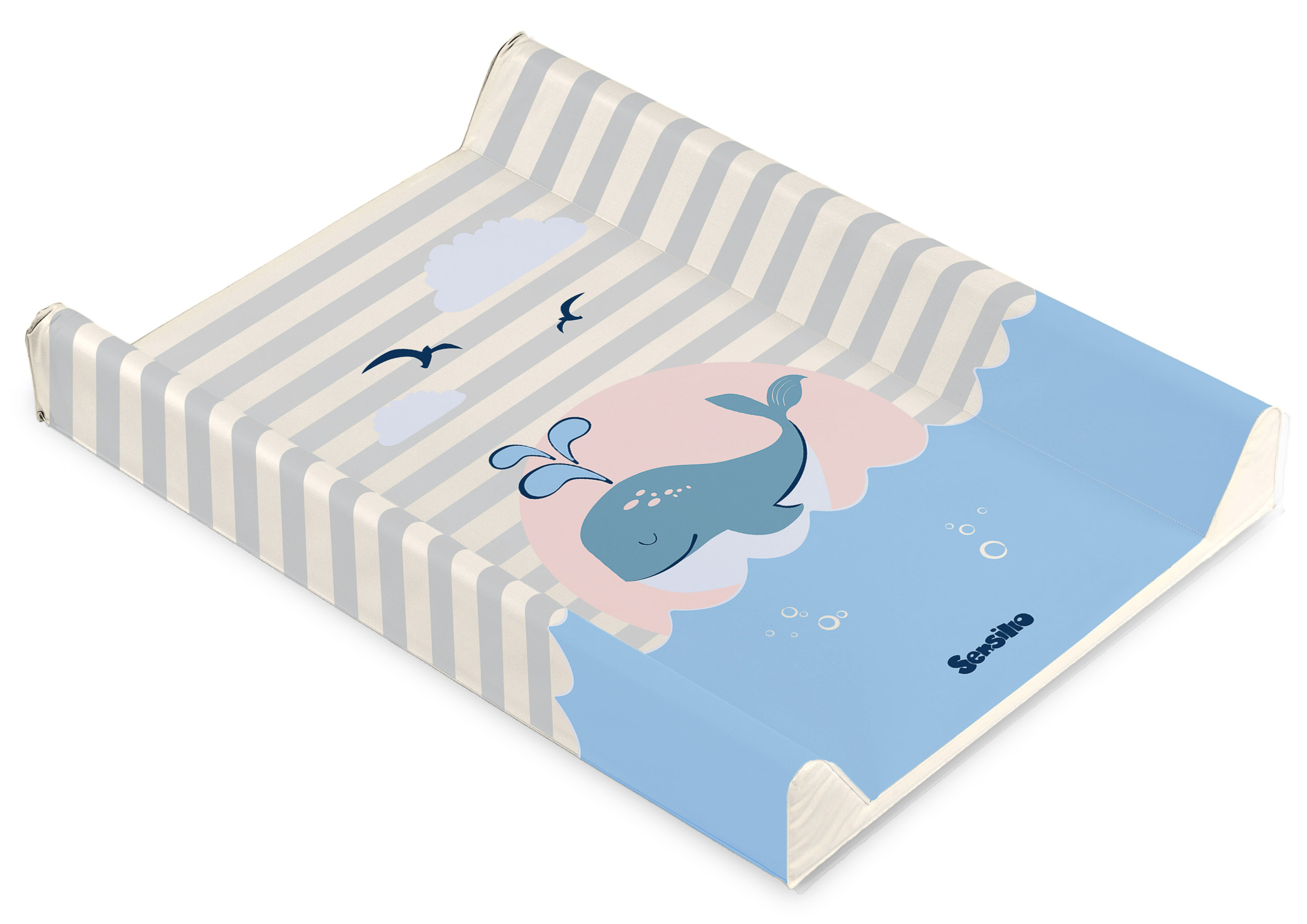 Lovely Friends Changing Pad – whale beige